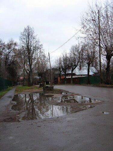 Звенигород. Улица Луначарского.