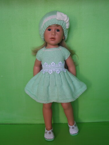МК платья для куклы Gotz