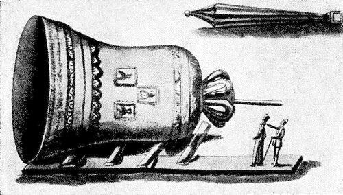 Рисунок 127а. Колокол (из альбома Мейерберга).