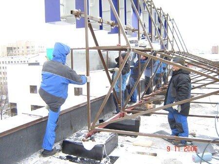 Изготовление рекламы, крышная установка, http://www.stroyalp.ru/rek-proizv.php