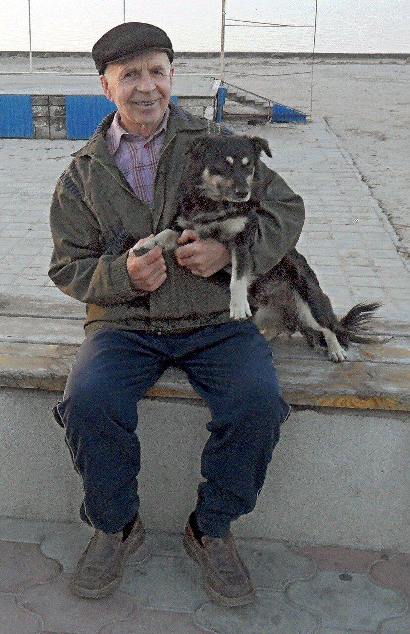 Степанович и Шарик