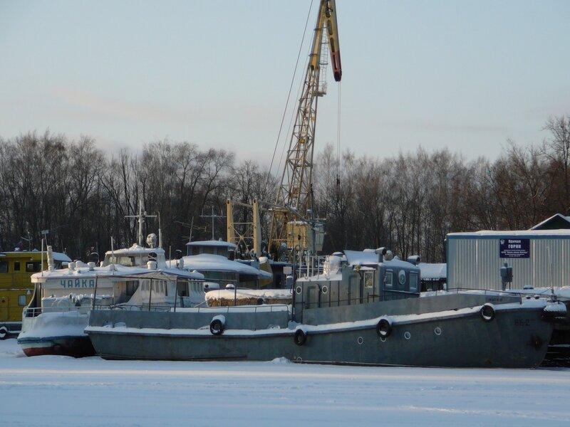 Водолазный бот ВБ-2 тип Ярославец. (http://fleetphoto.ru/ship/2342/)