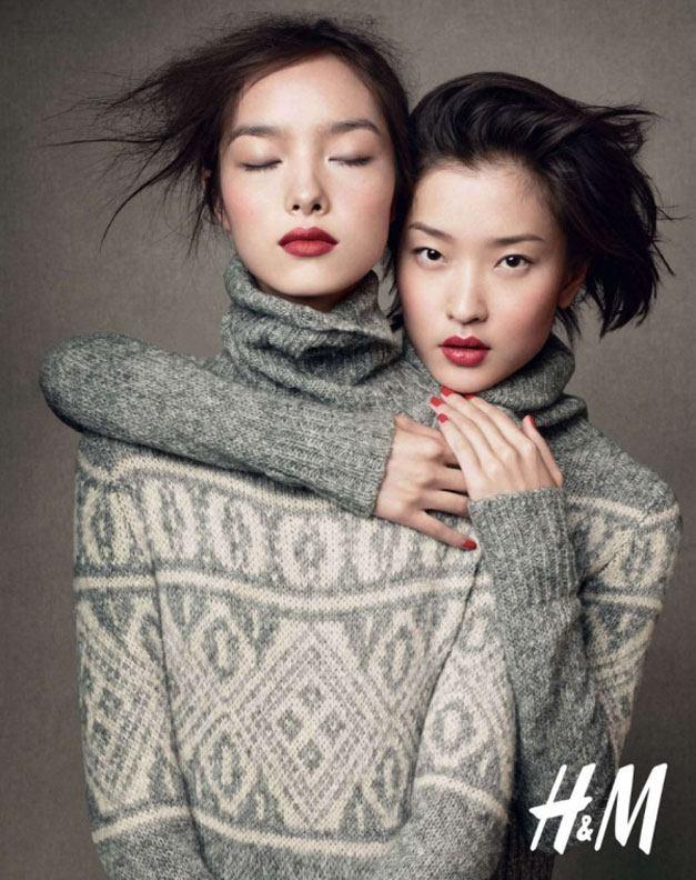 модели Ду Хуан и Фей Фей Сун / Du Juan and Fei Fei Sun