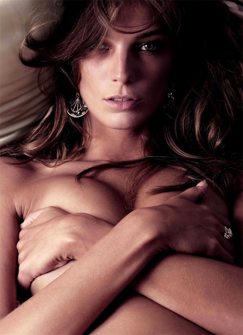 Дарья Вербовы / Daria Werbowy by Mikael Jansson for Vogue Paris 2011 calendar