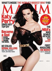 Кэти Перри / Katy Perry by Yu Tsai in Maxim US january 2011
