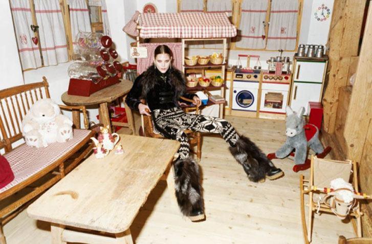 модель Кэтрин МакНейл / Catherine McNeil, фотограф Tung Walsh