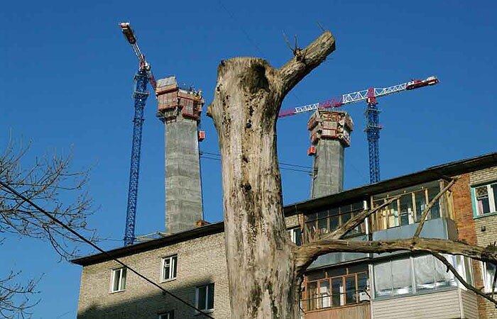 Владивосток - строительство моста