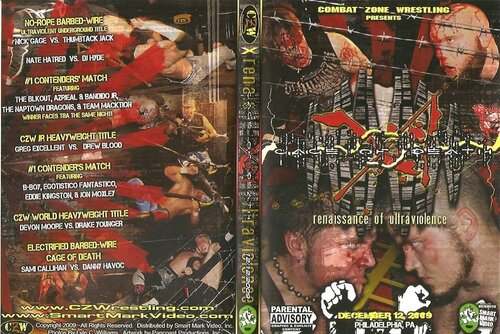 Post image of CZW: Cage of Death 11