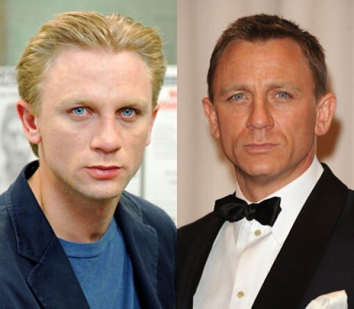 Большая разница.Daniel Craig