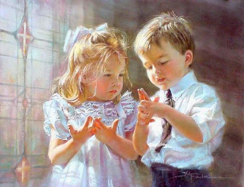 Подписать открытку, дети говорят открытки