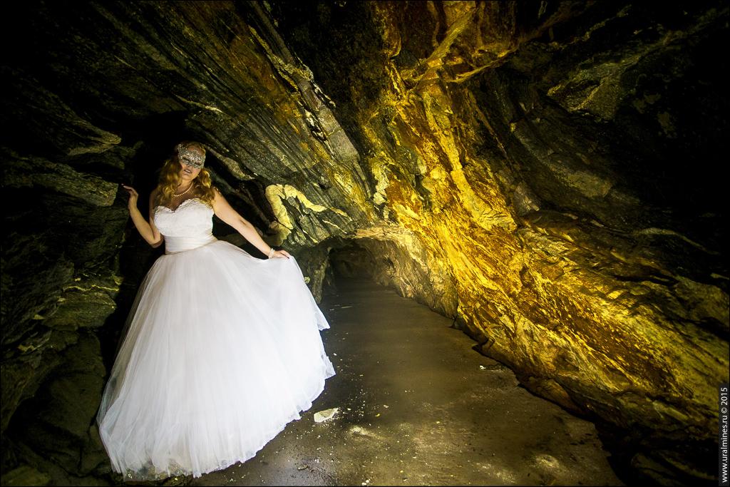 Свадьба под землей в шахте