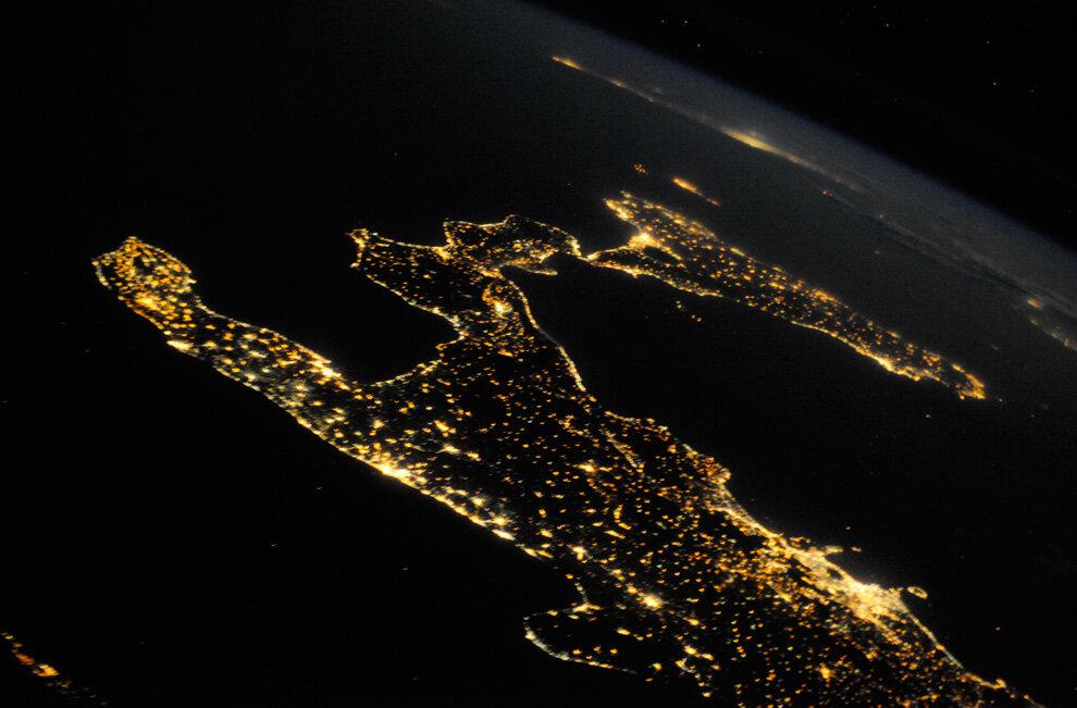 Вся красота Италии ясной летней ночью