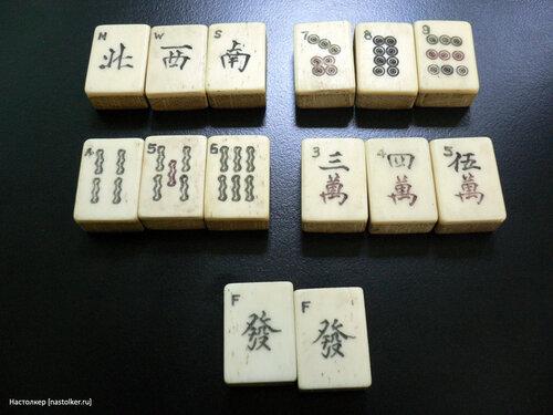 настольная игра Маджонг