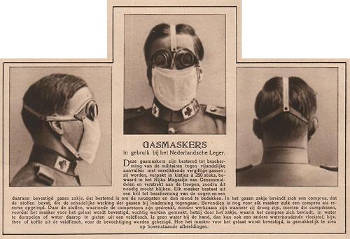 Gasmaskers Nederland 1916.jpg
