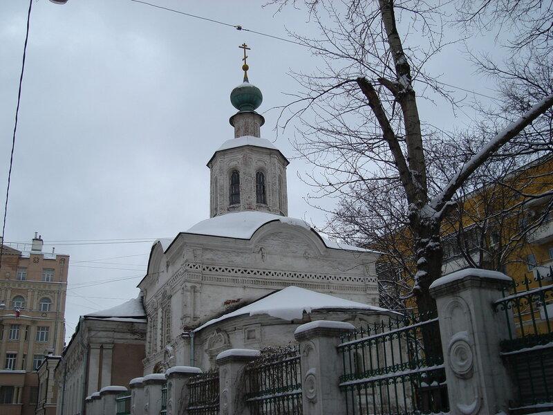 церковь Иоанна Предтечи под Бором, XVI-XVIII вв.