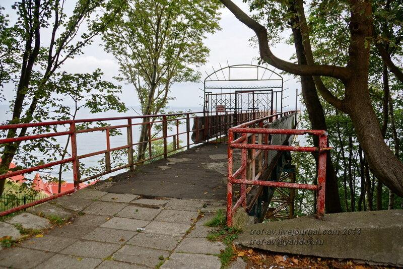 Заброшенный лифт к морю. Светлогорск-Rauschen