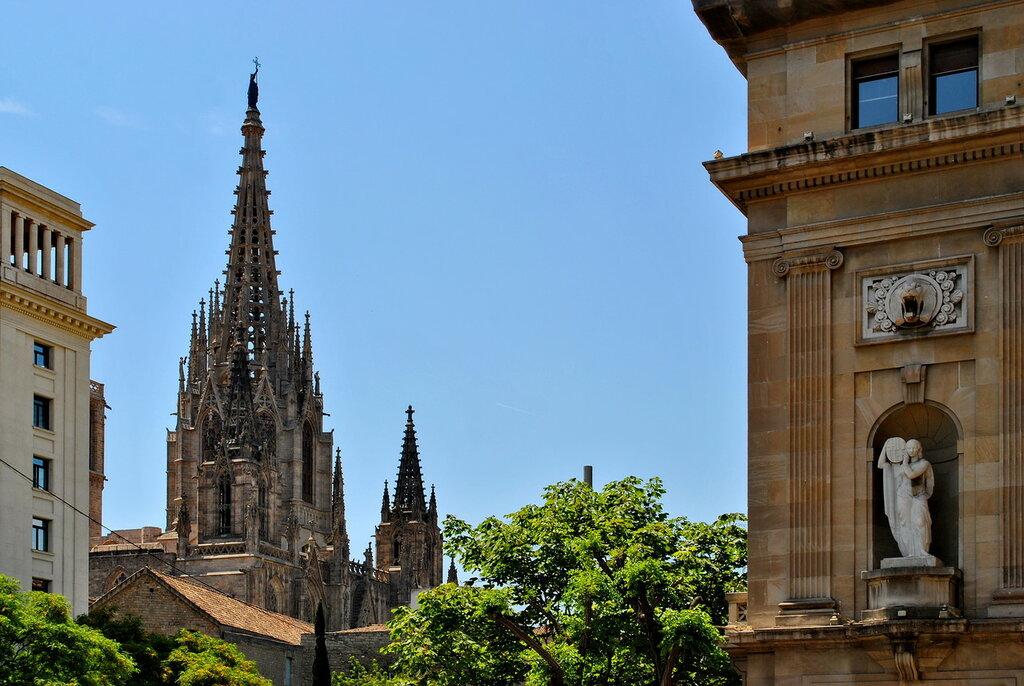 Pináculo da Catedral de Barcelona