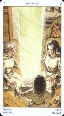 Языческое Таро Белой и Чёрной магии. Младшие Арканы. Пентакли 0_6eb84_1bc9db72_L