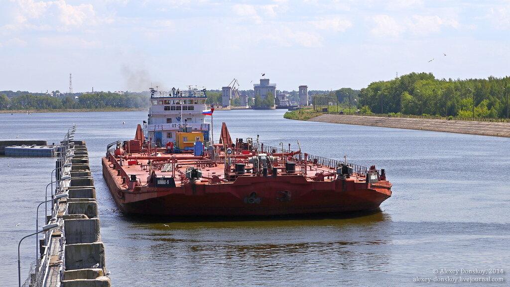 Как устроен шлюз Чебоксарской ГЭС