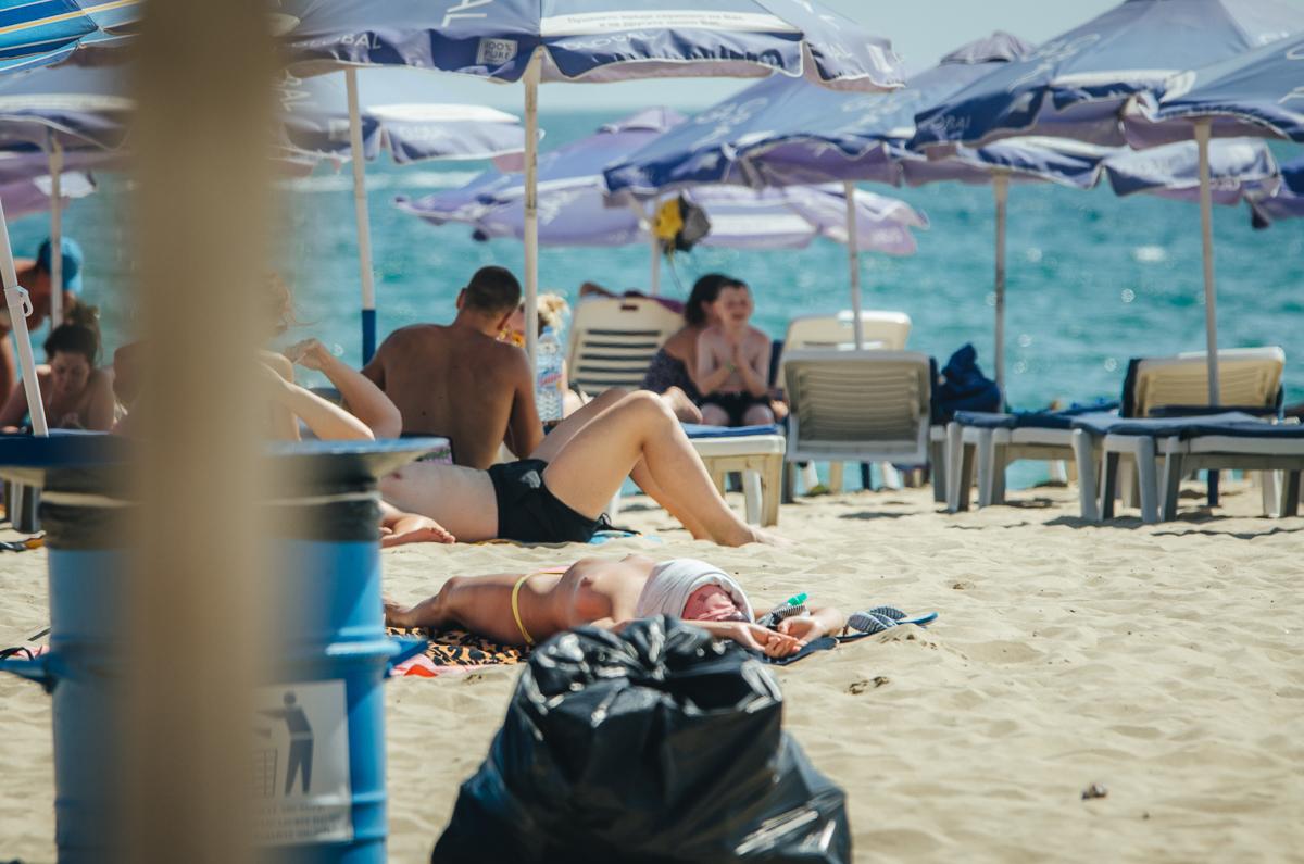 Пляжи Солнечный Берег, Болгария