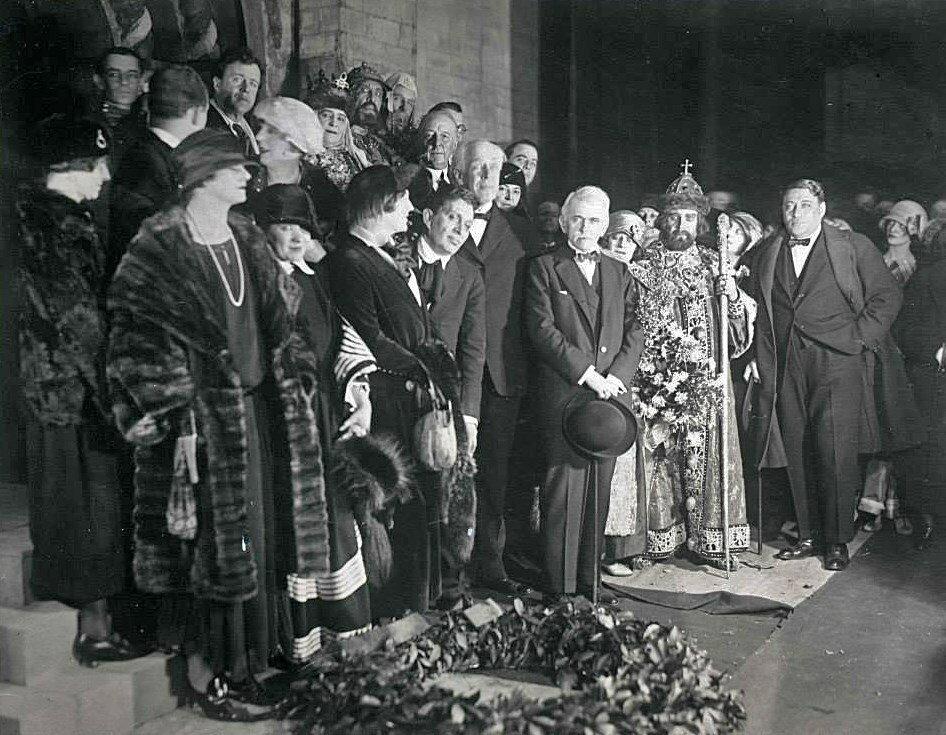 МХАТ на гастролях в США, 1922 год. Спектакль «Царь Федор Иоаннович».