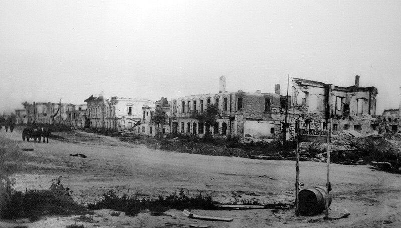 Улица Чичерина, Белгород, 1943. http://sanchess-city31.livejournal.com