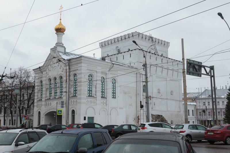 Церковь иконы Божией Матери Знамение и Знаменская башня