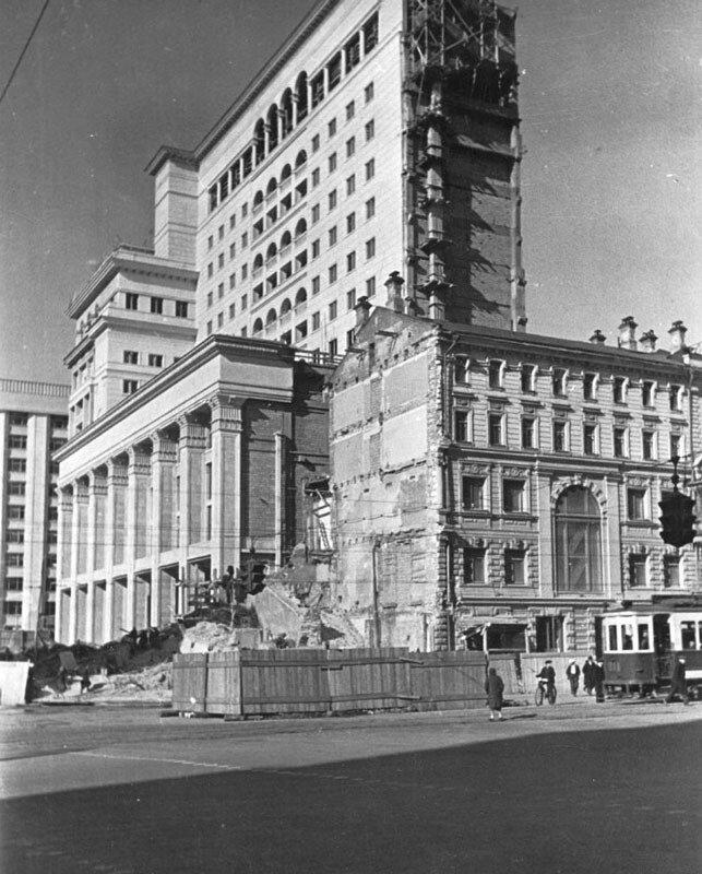 Гостиница Москва 1937 год.
