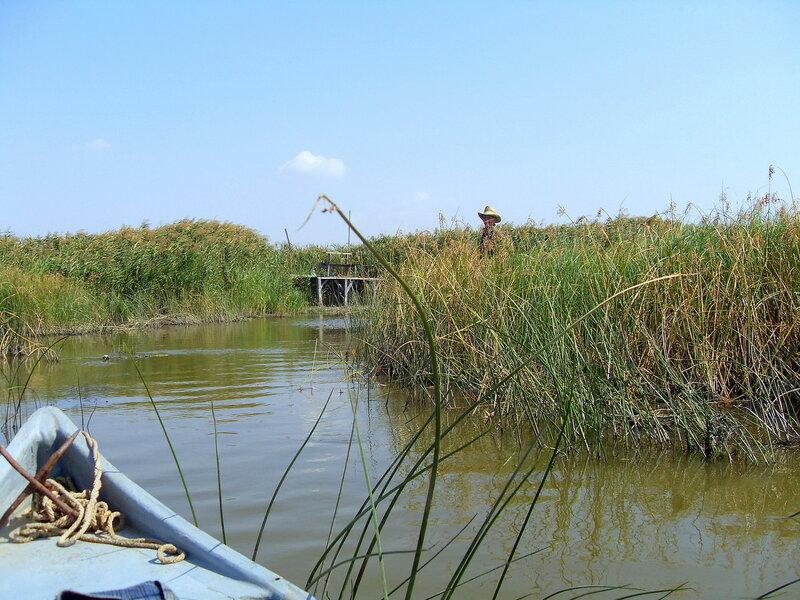 Сентябрь 2008, на вёслах, на лодке, поход, море Азовское