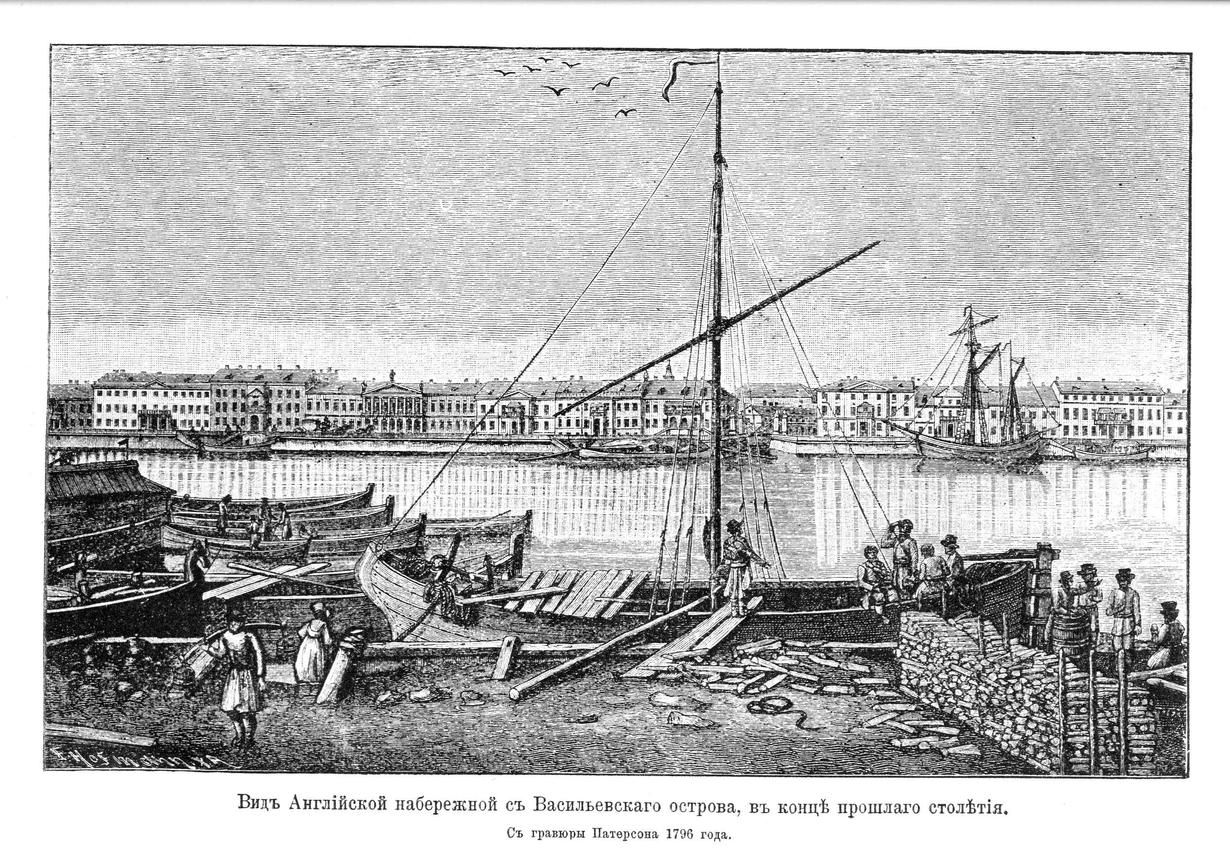 Вид Английской набережной