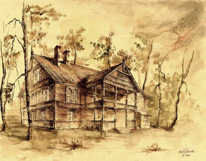 Эльвира Павликовская: Архитектурная акварель
