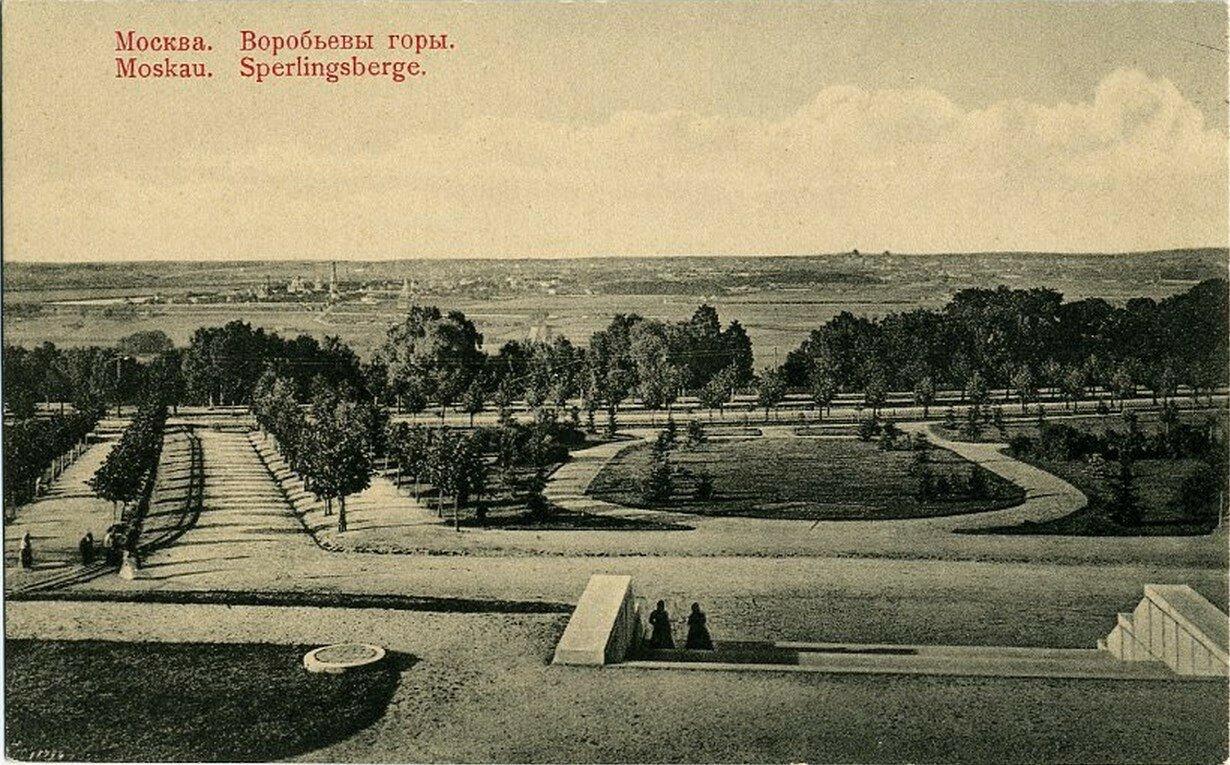 Окрестности Москвы. Воробьевы горы