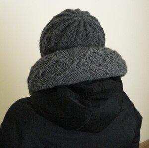 воротник и шапка