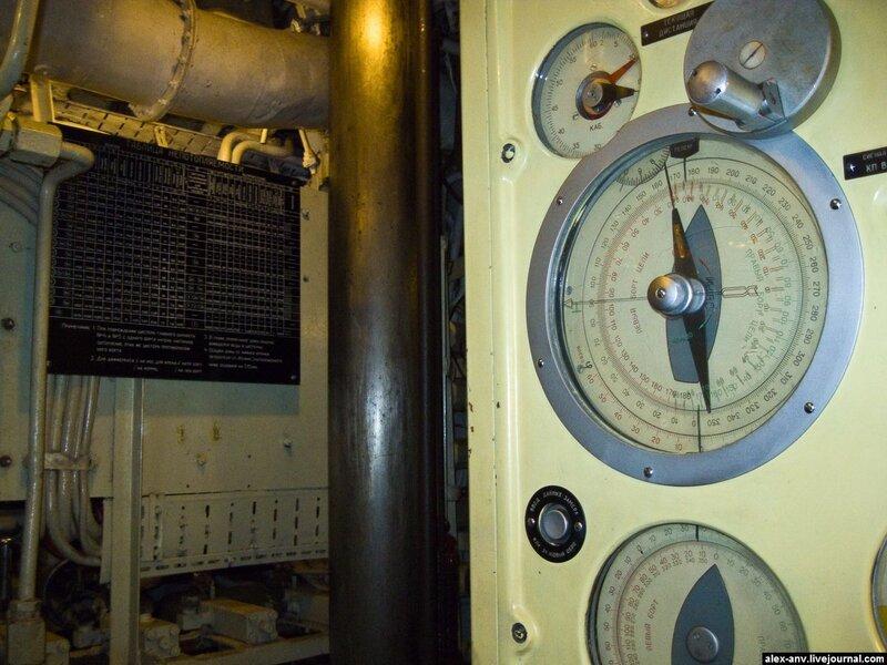 Подводная лодка С-189. Какое-то штурманское оборудование.