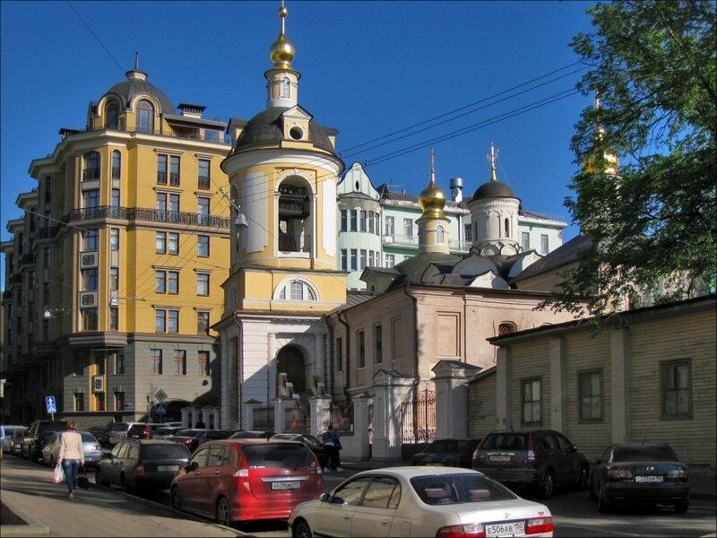 Церковь Антипы Мученика на Колымажном дворе