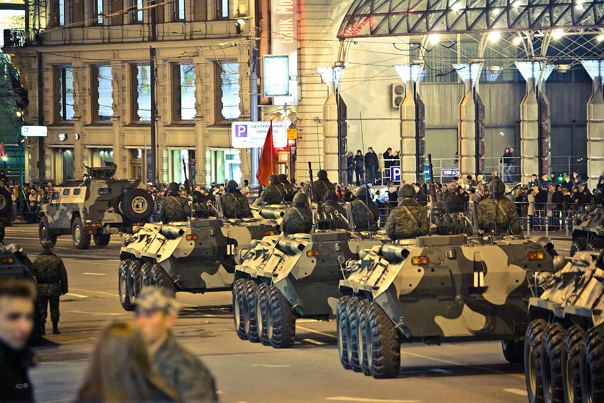 Репетиция военного парада 2009