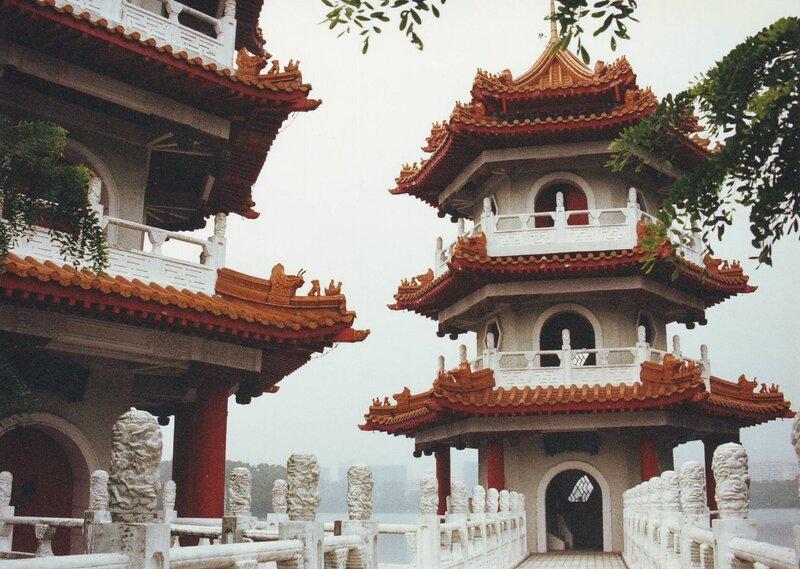 Китайские пагоды.