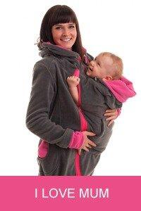 I Love Mum - слингокуртки, рюкзачки