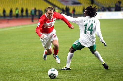 Спартак - Терек 0:0 10-04-2011