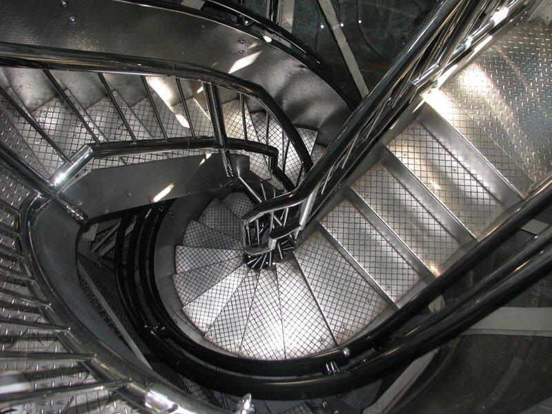 Лестница на статую Свободы в Нью-Йорке