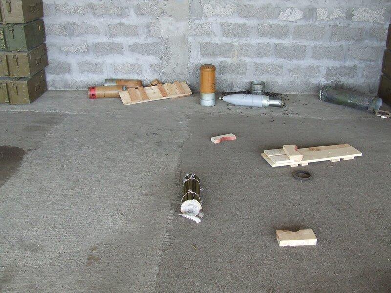 Трофеи Пятидневной. База в Сенаки
