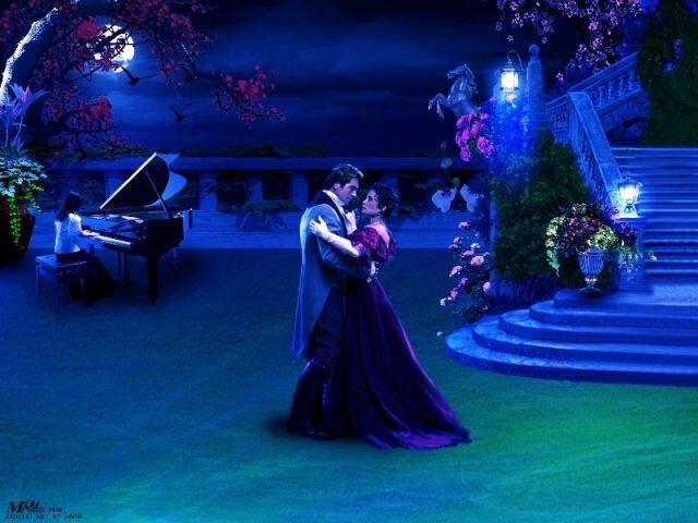 Ночное Танго при Луне