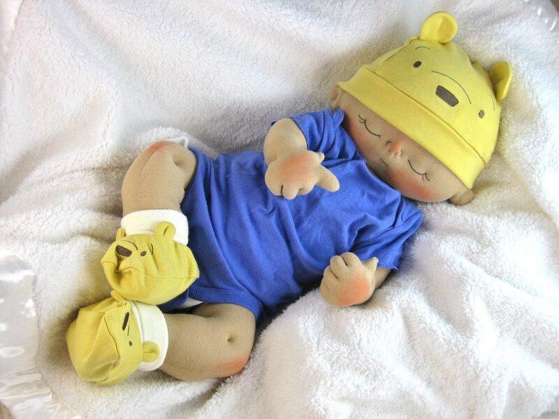 Кукла пупс своими руками
