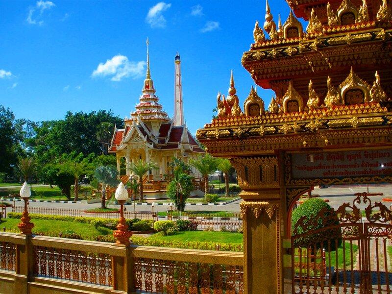Храмовый комплекс! Буддийский храм