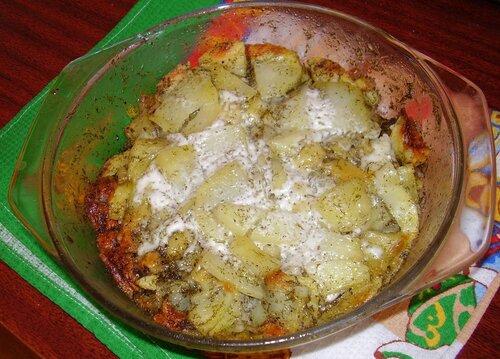 Картошка молодая в микроволновке рецепт
