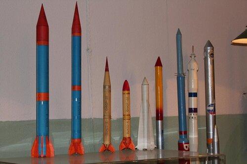 Летающие модели ракет