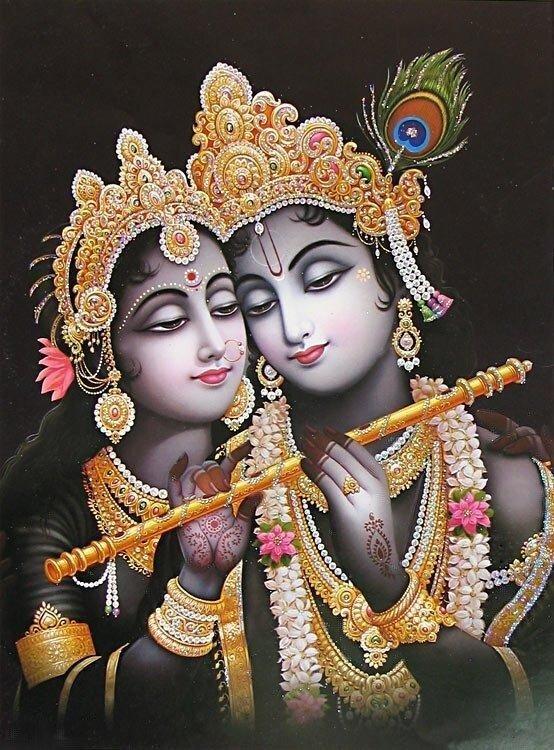 Образцы ведической мудрости и культуры - Радха-Кришна
