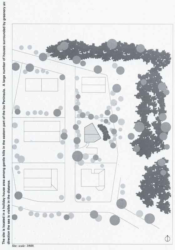 генеральный, план участка, в поселении, жилой дом, Япония  JA00525
