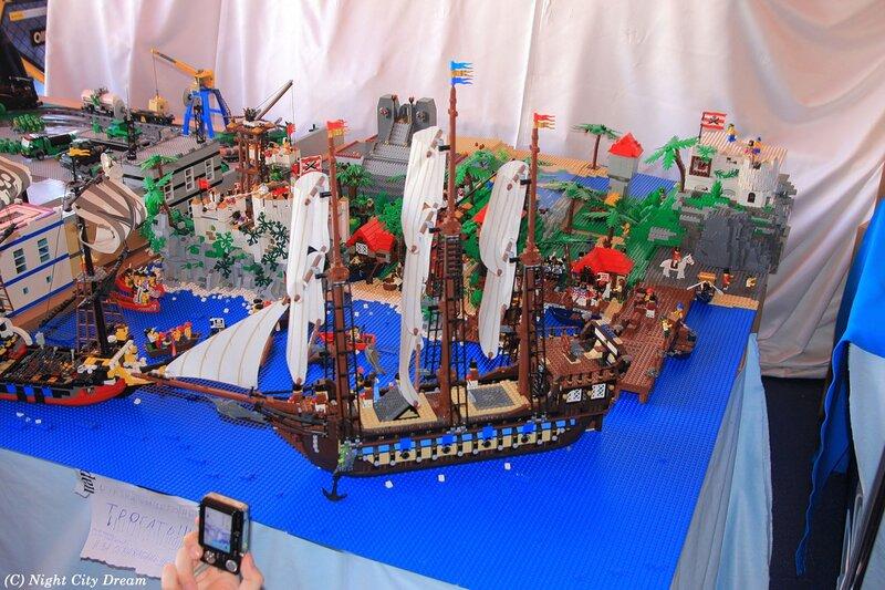 Как из лего сделать пиратский корабль