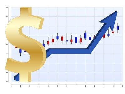 Business chart Dollar